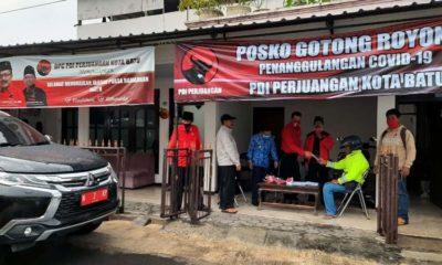 PDI Perjuangan, Dirikan Posko di Seluruh Kecamatan Kota Batu