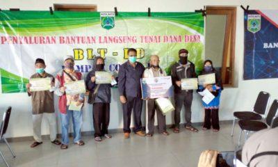 Desa Bumiaji Salurkan Bantuan BLT DD kepada 259 Warga