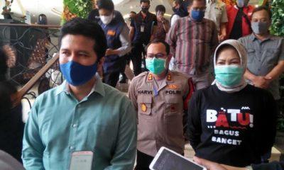 Wakil Gubernur Jatim Kunjungi Kota Batu, Pantau Penerapan Protokol Kesehatan di Tempat Wisata