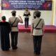 Proses Sertijab Kasatreskrim Polres Batu di Ruang Rupatama Mapolres dipimpin Kapolres Batu AKBP Harviadhi Agung Prathama, Selasa (11/8/2020).