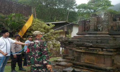 Rangkaian kegiatan bersih Desa Songgokerto.
