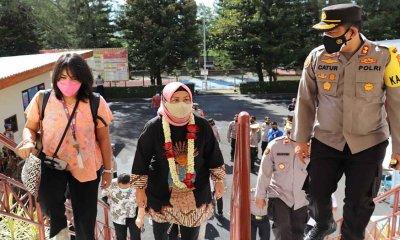 Polres Batu Terima Kunker Deputi Bidang Pelayanan Publik Kemenpan RB