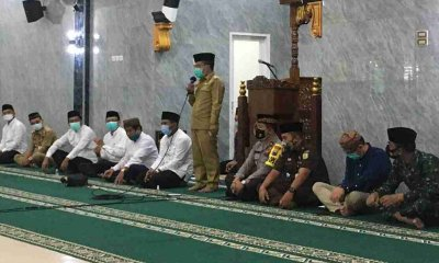 Melalui Silaturahmi Ramadhan, Pemkot Batu Bagikan Santunan pada Yatim dan Kaum Dhuafa